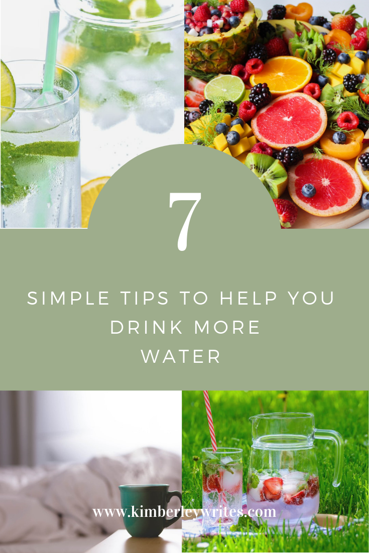 7 simple tips ti help you drink more water